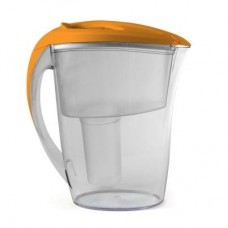 HDX Water Filter Pitcher With 2 Universal Cartridges (6-Cup Capacity)